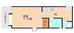 メゾンドマロニエ[3階]の間取り