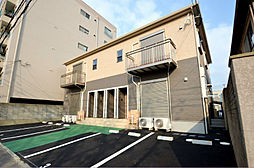 福岡県北九州市八幡東区茶屋町の賃貸アパートの外観