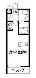 KYOTOHOUSE桂川[2階]の間取り