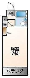 ブランアトリエ[2階]の間取り