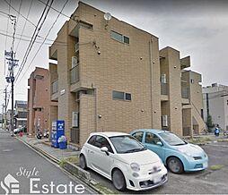 愛知県名古屋市東区矢田4丁目の賃貸アパートの外観