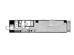 阪神本線 深江駅 8階建[5階]の間取り