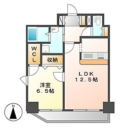 ABC Sakura Garden(サクラガーデン)[3階]の間取り
