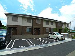 兵庫県加古郡稲美町国岡3丁目の賃貸アパートの外観