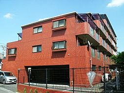 東京都調布市緑ケ丘2の賃貸マンションの外観