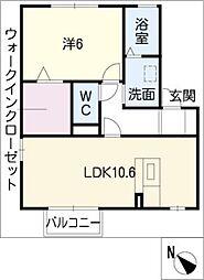 Maison K・H I[2階]の間取り