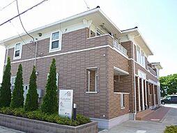 栃木県真岡市東光寺1丁目の賃貸アパートの外観