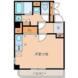 メイフェアハウス三田[6階]の間取り