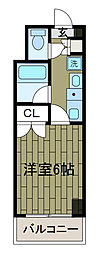 三敬ビル[3階]の間取り