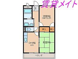 Residence須賀崎[1階]の間取り