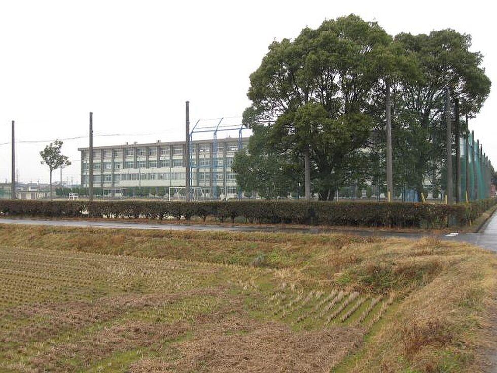 周辺(市立沓掛中学校)