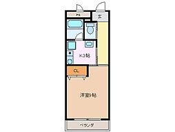 未来ビル[4階]の間取り