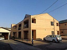 愛知県北名古屋市熊之庄十二社丁目の賃貸アパートの外観