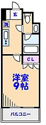 ParkAxis西船橋本郷町[309号室]の間取り