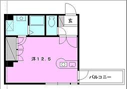 サンライズ豊坂[505 号室号室]の間取り