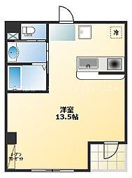 ff osaka.com 2階ワンルームの間取り