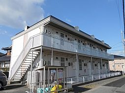 広島県東広島市八本松東 3丁目の賃貸アパートの外観