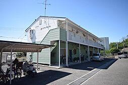 大阪府柏原市安堂町の賃貸アパートの外観