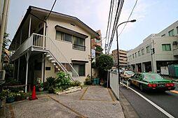 東京都渋谷区代々木1丁目の賃貸アパートの外観