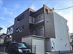 埼玉県川口市南鳩ケ谷2丁目の賃貸マンションの外観