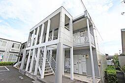 埼玉県草加市瀬崎6丁目の賃貸アパートの外観