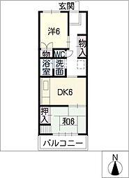 メゾンMMI[2階]の間取り