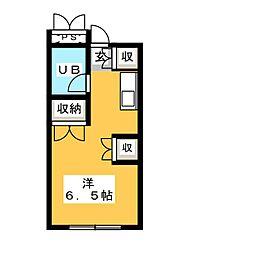 彩季館[3階]の間取り