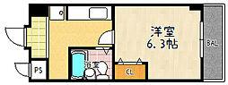 エンゼルプラザ瀬田[3階]の間取り