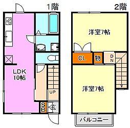 [一戸建] 兵庫県神戸市須磨区宝田町1丁目 の賃貸【/】の間取り