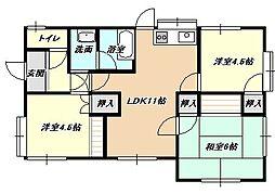 [一戸建] 福岡県北九州市小倉北区寿山町 の賃貸【/】の間取り