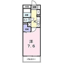 フローラルハイムオガワ[2階]の間取り