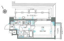 フェニックス西新宿参番館[503号室号室]の間取り