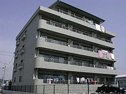 ロックガ−デン北棟[4階]の外観