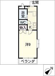 レジデンスAoyama[3階]の間取り