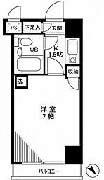 ライオンズマンション東新小岩[1階]の間取り