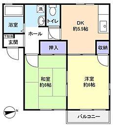 ステップI[2階]の間取り