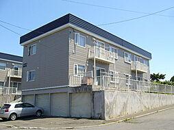 北海道札幌市豊平区福住三条12丁目の賃貸アパートの外観