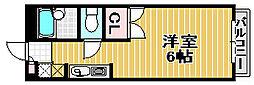 ブールバール東豊中1[1階]の間取り