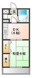 メゾンド習志野[3階]の間取り