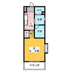 アールズコート本郷駅前[4階]の間取り