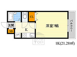 鶴見緑地駅 4.3万円