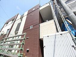 愛知県名古屋市西区新道1丁目の賃貸アパートの外観
