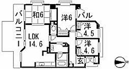 レネット原[2階]の間取り