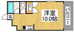 フォレスト・ウインド・イン姪浜[1階]の間取り