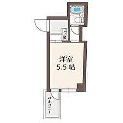 ラコンテ・スィエル[1階]の間取り
