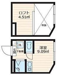 アパートメンツ東京西小岩  −妹[208号室]の間取り