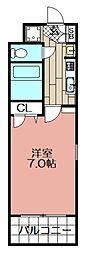 エンクレスト大手門II(207)[207号室]の間取り