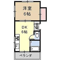 東峰荘[03FN号室]の間取り