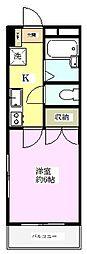 パピヨン[3階]の間取り