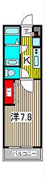 リブリ・イレブン[3階]の間取り
